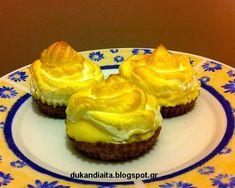 Όλα για τη δίαιτα Dukan: Γλυκά φάσης πλεύσης (β) Dukan Diet Recipes, Recipies, Lemon, Low Carb, Desserts, Food, Dukan Diet, Recipes, Tailgate Desserts