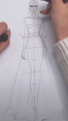 Fashion Design Fashion Design ,Drawing lessons Related posts:🌸🐘 Thanks for a great Party! Fashion Drawing Tutorial, Fashion Figure Drawing, Fashion Drawing Dresses, Fashion Illustration Dresses, Drawing Fashion, Fashion Illustration Tutorial, Drawings Of Dresses, Dress Design Sketches, Fashion Design Drawings