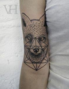 Elegant Fox Tattoos for Women