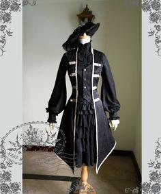Fanplusfriend Ten O'Clock Cinderella Series Rococo Lolita Elegant Gothic Unisex False 2Pcs Vest Jacket