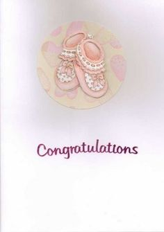 Misi is UK's popular marketplace for handmade and vintage gifts. Congratulations Pictures, Congratulations Baby Girl, Scrapbook Journal, Baby Scrapbook, Handmade Shop, Handmade Cards, Card Sentiments, New Baby Cards, Births