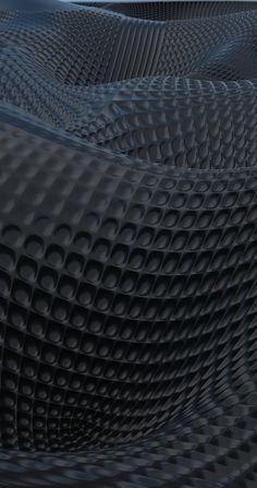 Parametric Surface Design | Black Edition by Yunus Emre Kara
