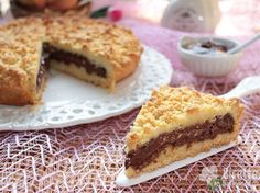 Ricetta per Sbriciolata alla Nutella Gourmet Recipes, Sweet Recipes, Torte Recipe, Cooking Cake, Cakes And More, Fun Desserts, Cheesecake, Yummy Food, Sweets
