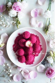 Energy Bites, Truffles, Raspberry, Cheesecake, Deserts, Sweets, Fruit, Jin, Balls