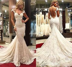 >> Stylist Galia Lahav Mermaid Lace Wedding ceremony Clothes 2015 Attractive Cap Sleeves Backless Beads Plus Measurement Spring Seashore Wedding ceremony Robes Chapel Practice Customized Made On-line with $147.sixty three/Piece on Candy-life's Retailer | DHgate.com