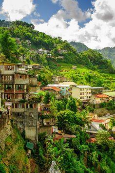 Banaue Village in North Luzon, The Philippines