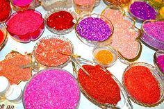 Meyer Imports glass glitter.