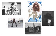 BonBon Magazine Creative Director Joelle Litt | Photograph Carlos Lumiere Models Natasha & Ekaterina | Makeup Alice Brown | Shoes Melissa