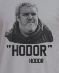 Premium Game of Thrones Hodor Hodor and Bran Tee T-Shirt