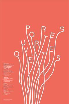 30 affiches avec un travail typographique original - Inspiration graphique #12 - Blog Du WebDesign