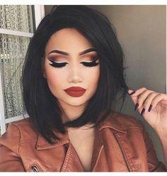 Imagen de girl, hair, and makeup