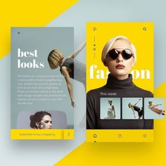 Fallas ・・・ Fashion Magazine Concept 😍💁 Had a lot of fu. -Jason Fallas ・・・ Fashion Magazine Concept 😍💁 Had a lot of fu. Find images and videos on We Heart It - the app to get lost in what you love. Interaktives Design, App Ui Design, Interface Design, User Interface, Graphic Design, Design Layouts, Brand Design, Flat Design, Logo Design