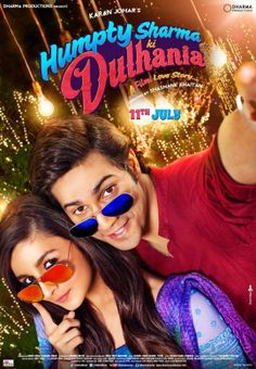 First look poster of Varun Dhawan & Alia Bhatt starrer 'Humpty Sharma Ki Dulhania' revealed today. The film is being directed by Shashank Khaitan and is being produced by Karan Johar. Check out below the First Look Poster of 'Humpty Sharma Ki Dulhania. Movies 2014, Latest Movies, Hd Movies, Movies Free, Movie Songs, Film 2014, Watch Movies, Humpty Sharma Ki Dulhania, Movies Quotes