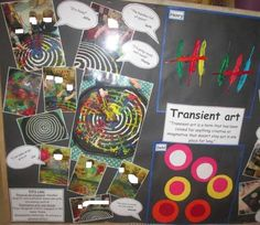 Transient art display at Stourton Reggio, Pre School, Infants, Display, Artists, Create, Young Children, Floor Space, Billboard