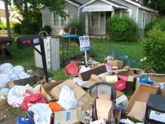 Did  your tenant leave a mess when they moved out? We can help! GSD Junk Hauling 256.735.9494