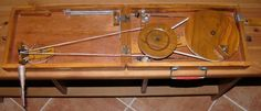 Indian box charkha, open with links to instructional sites