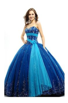 Cheap dress sequined, Buy Quality dresses for birthday parties directly from China dress trendy Suppliers: Hot Sale Ball Gown Royal Blue Quinceanera Dresses For 15 Years Appliques Beaded Vestidos De Quinceanera Blue Ball Gowns, Ball Gowns Prom, Homecoming Dresses, Dress Prom, Blue Gown, Party Dress, Tulle Dress, Dress Long, Long Ball Dresses