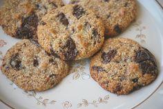 flourless chocolate chip cookies...hmmm