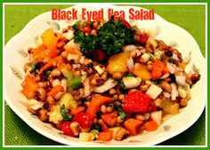Sweet Tea and Cornbread: Black Eyed Pea Salad!