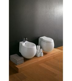 8105CL Scarabeo  Scarabeo Planet Vegghengt toalett 500x450 mm, uten skyllekant, Hvit