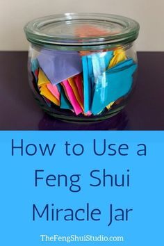 Tap into your own Inner Feng Shui & use a Feng Shui Miracle Jar. Tap into your own … Feng Shui Studio, Feng Shui House, Feng Shui Bedroom, Living Room Feng Shui, Feng Shui Basics, Feng Shui Principles, Feng Shui Tips, Feng Shui Art, Feng Shui 2019