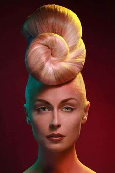28 Creative Updos - Eccentric Hairstyles, from Upswept Couture Looks to Egyptian Buns (CLUSTER)