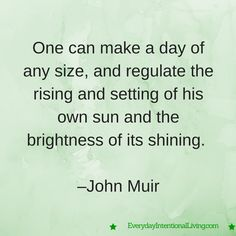 Thought for the Day: Muir