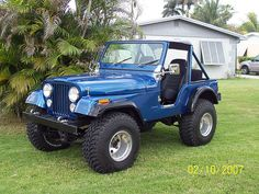 Jeep CJ-5 by dave12311, via Flickr