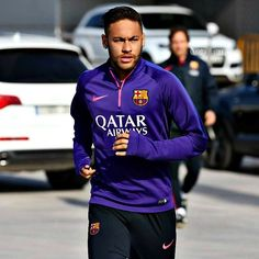 "rijaujkani: ""Neymar training today "" Neymar Jr, One Team, Fc Barcelona, Perfect Man, Soccer, Football, Zip, Guys, Sports"