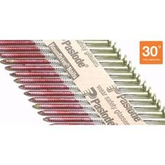 Paslode 3 in. x 0.120 Ring Hot Dipped Galvanized Framing Nails (2,000-Pack)-650385 at The Home Depot