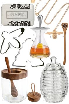 Start and Maintain a Beehive.  I love the story that accompanies this gift list for honey lovers...