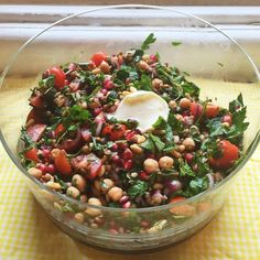 This salad is delicious served on a warm evening as an accompaniment to bbq meats. It's also good for taking…