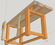 Split top roubo with homemade vises - Project Journals - Wood Talk Online