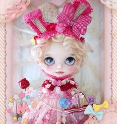 ** Milk Tea ** Custom Blythe カスタムブライス *。キャンディえくぼちゃん。* - Auction - Rinkya! Japan Auction & Shopping