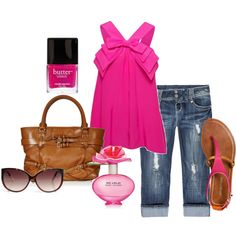Hot Pink Love!, created by mayra-aguilera