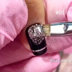 Get your nails beautifully done with these ideas Credits: Funky Nail Art, Funky Nails, Pretty Nail Art, Cute Nails, Sparkly Nails, Glitter Nails, Nail Printer, Skin Products, Beauty Products