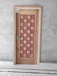 Tiki  door Flush Door Design, Door Gate Design, Room Door Design, Wooden Door Design, Bedroom Bed Design, Mdf Doors, Wooden Doors, Window Grill Design, Flush Doors