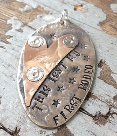 STaMPeD ViNTaGe uPCyCLeD SpooN JeWeLRy by JuLieSJuNQueTiQue, $12.00
