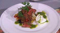 """Chef Jason Santos returns to """"The Talk"""" for a cooking segment. Jason is a Boston-based chef and owner of two restaurants: Abby Lane and Back Bay Harry's."""
