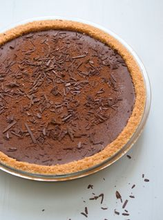 extraordinary chocolate tart // drizzle and dip Chocolate Pie Recipes, Delicious Chocolate, Chocolate Chocolate, Chocolate Brownies, Sweet Pie, Sweet Tarts, Non Plus Ultra, Bread And Pastries, Pie Dessert