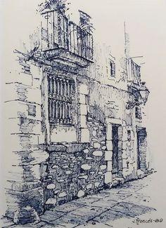 Ink drawing, Joaquim Francés
