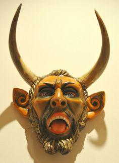 Devil Diablo Mask Mascara Mexico | by Teyacapan