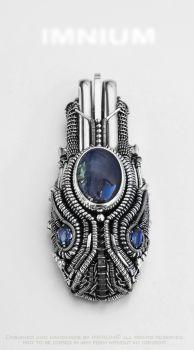Tanzanite pendant by IMNIUM