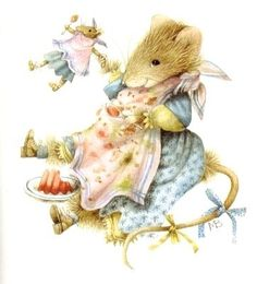Vera The Mouse Artist Marjolein Bastin Love love this one