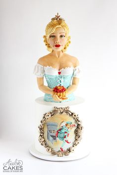 Queen of Tarts - Cake by Avalon Cakes School of Sugar Art