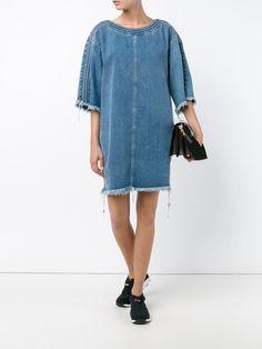 Chloé robe-tunique en jean