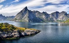 Hamnøy, Nordland, Norway