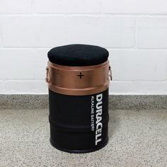Duracell #duracell  #drum #oildrum #industrialdesign #barril #rebecaguerra #lata #decoração