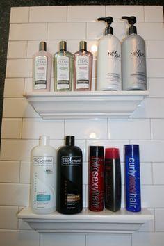 Bathroom Tile Storage