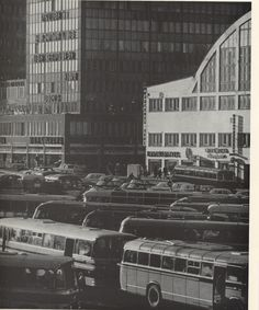 Kamppi in Photo: Asko Rysä. Published in Helsinki and Her People. History Of Finland, Good Old Times, The Old Days, Helsinki, Historian, Ancient History, Time Travel, Old Photos, Old Things